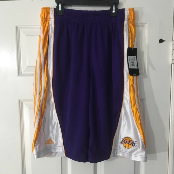 Adidas Los Angeles Lakers Flash Short Purple M LA eb6d237e9